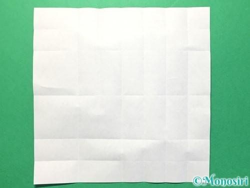 折り紙で数字の1の折り方手順16