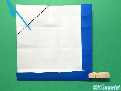 折り紙で数字の1の折り方手順21