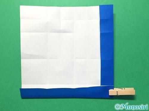 折り紙で数字の1の折り方手順20