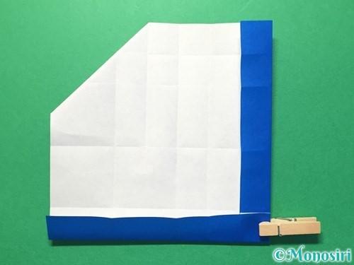 折り紙で数字の1の折り方手順22