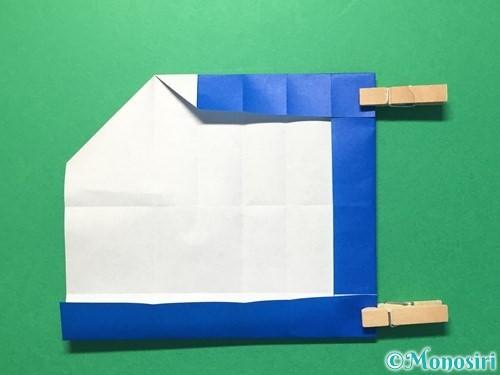 折り紙で数字の1の折り方手順24
