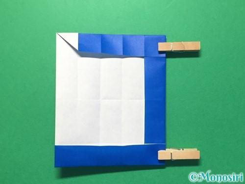 折り紙で数字の1の折り方手順26