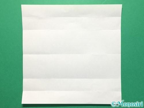 折り紙で数字の3の折り方手順6