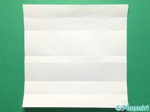 折り紙で数字の3の折り方手順8