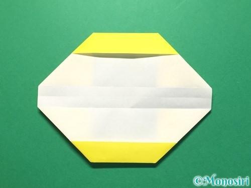 折り紙で数字の3の折り方手順14