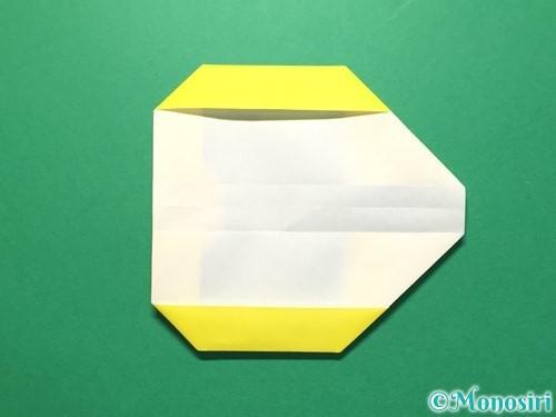 折り紙で数字の3の折り方手順16