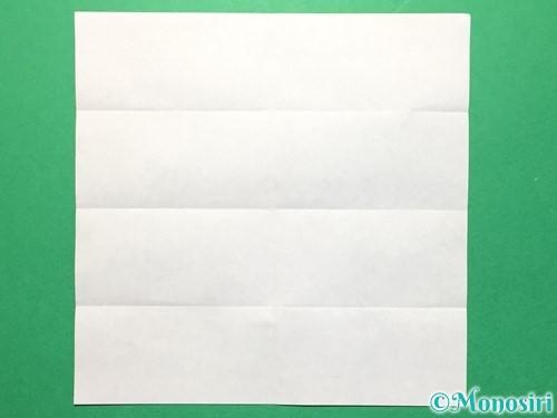 折り紙で数字の4の折り方手順6