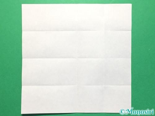 折り紙で数字の4の折り方手順8