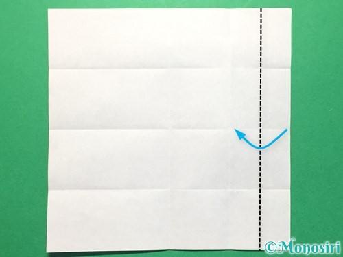 折り紙で数字の4の折り方手順9