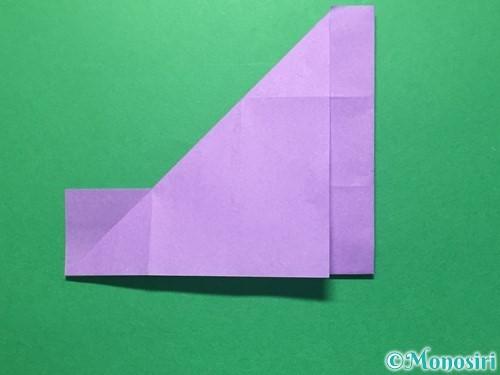 折り紙で数字の4の折り方手順14