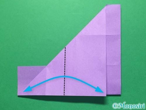 折り紙で数字の4の折り方手順15