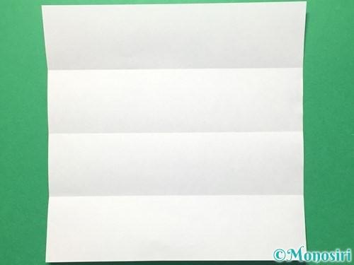 折り紙で数字の5の折り方手順4