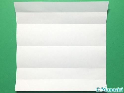 折り紙で数字の5の折り方手順6
