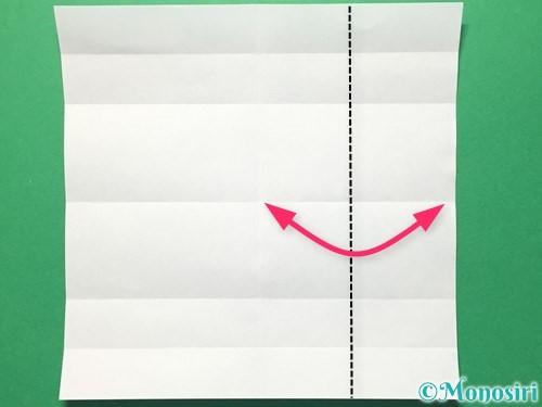 折り紙で数字の5の折り方手順9