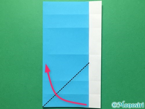 折り紙で数字の5の折り方手順15