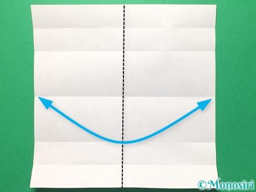 折り紙で数字の6の折り方手順7