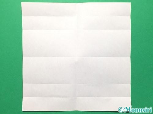 折り紙で数字の6の折り方手順8