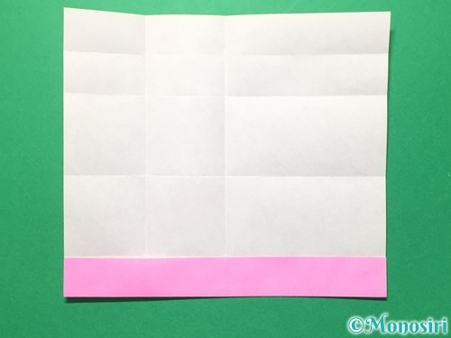 折り紙で数字の6の折り方手順12