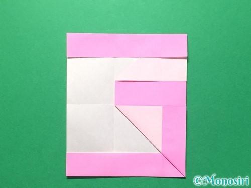 折り紙で数字の6の折り方手順18