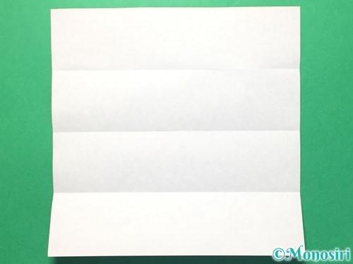 折り紙で数字の8の折り方手順4