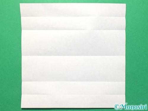 折り紙で数字の8の折り方手順6