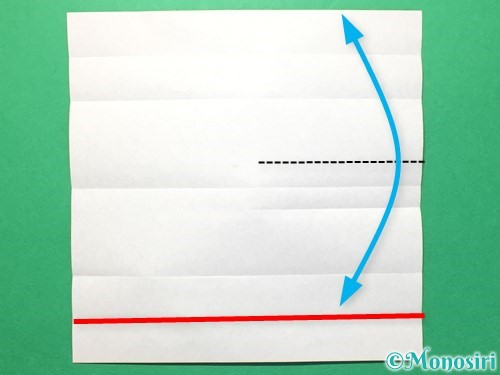 折り紙で数字の8の折り方手順9