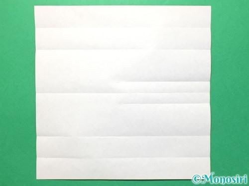 折り紙で数字の8の折り方手順10