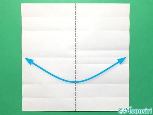 折り紙で数字の8の折り方手順11