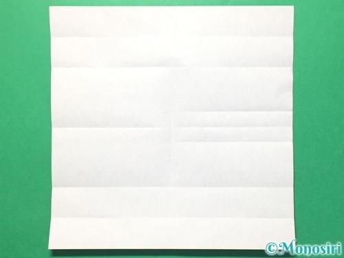 折り紙で数字の8の折り方手順12