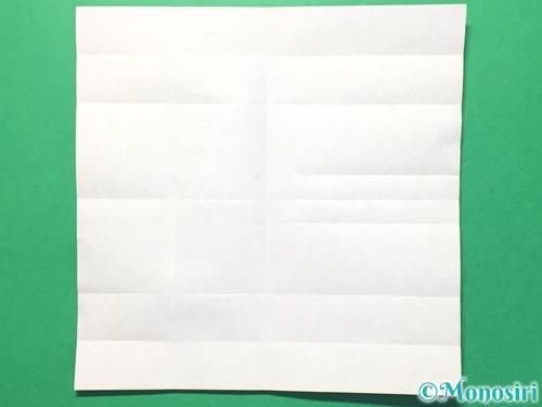 折り紙で数字の8の折り方手順14