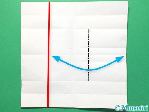 折り紙で数字の8の折り方手順15