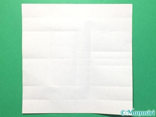 折り紙で数字の8の折り方手順16