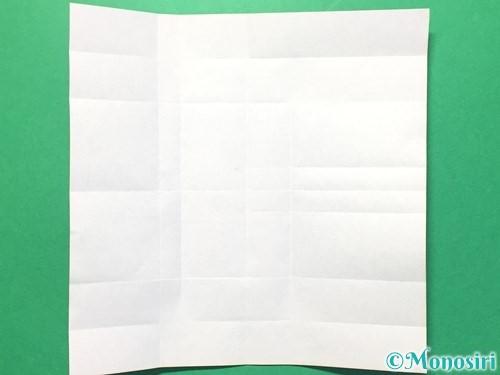 折り紙で数字の8の折り方手順18