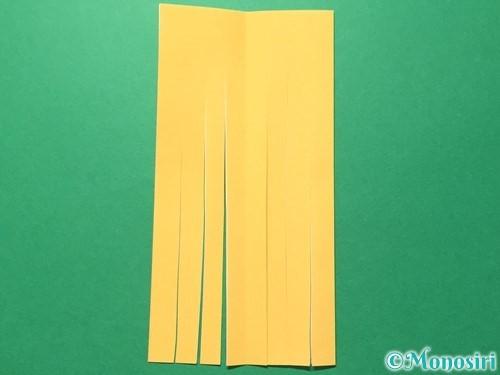 折り紙で吹き流しの作り方手順8