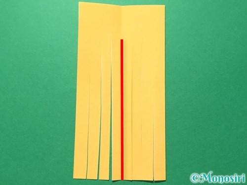 折り紙で吹き流しの作り方手順9