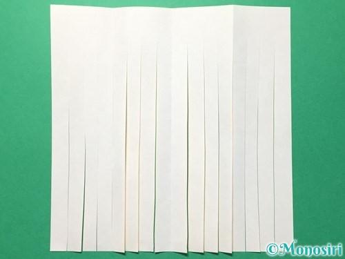 折り紙で吹き流しの作り方手順11