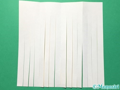 折り紙で吹き流しの作り方手順13