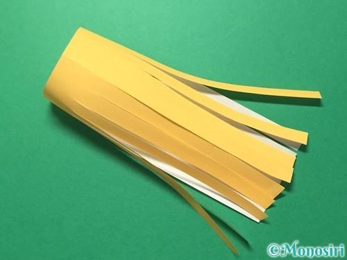 折り紙で吹き流しの作り方手順16