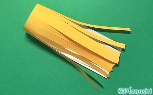 折り紙で作った吹き流し