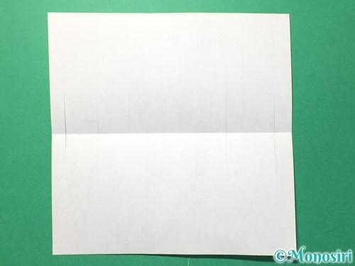 折り紙で貝飾りの作り方手順6
