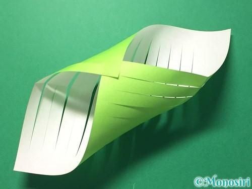 折り紙で貝飾りの作り方手順8