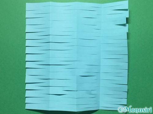 折り紙で天の川の作り方手順7