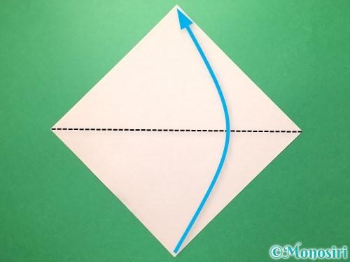 折り紙で屑籠の作り方手順1