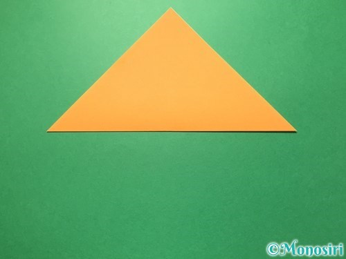折り紙で屑籠の作り方手順2