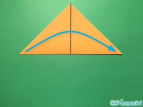 折り紙で屑籠の作り方手順3