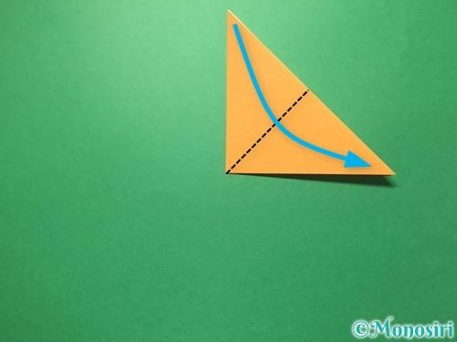 折り紙で屑籠の作り方手順5