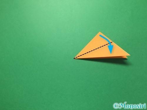 折り紙で屑籠の作り方手順7