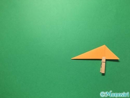 折り紙で屑籠の作り方手順8