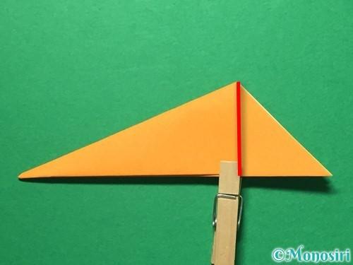 折り紙で屑籠の作り方手順9