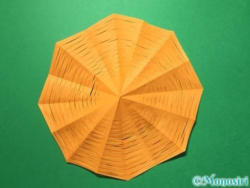 折り紙で屑籠の作り方手順13